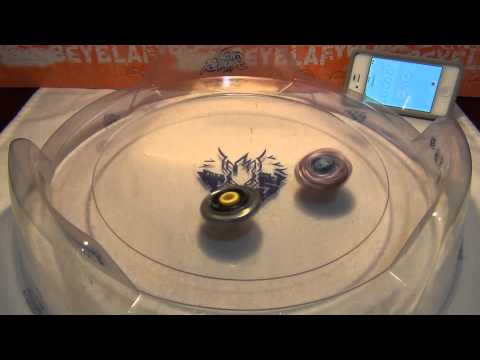 Meteo L-Drago's Spin Stealing Demonstration - Beyblade Tips & Tricks