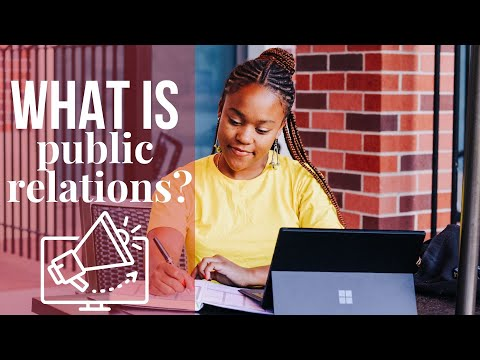 All About My Public Relations Major in College! (Courses, Jobs/Internships, Salary)