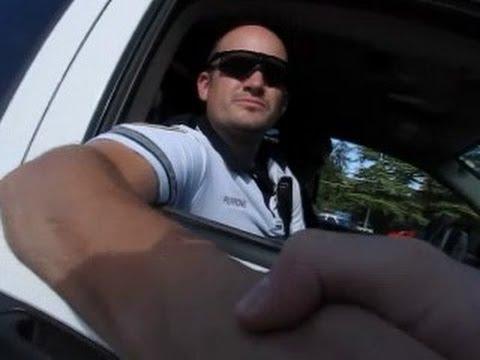 Ashland Oregon Police (Open Carry Rifle and Handgun)