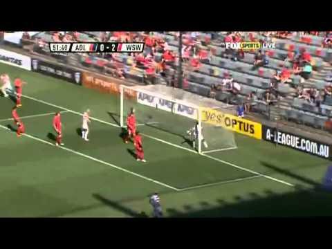 Adelaide United Vs Western Sydney Wanderers 04/Feb/2013