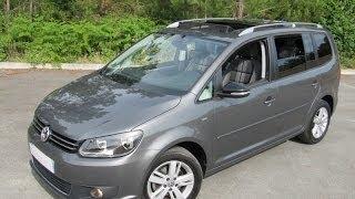 VW Touran II Match 2012 1.6 tdi105 opensky 7 seats volkswagen zero-stress-auto FR