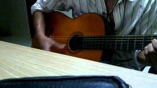 Tâm sự người cài hoa trắng guitar