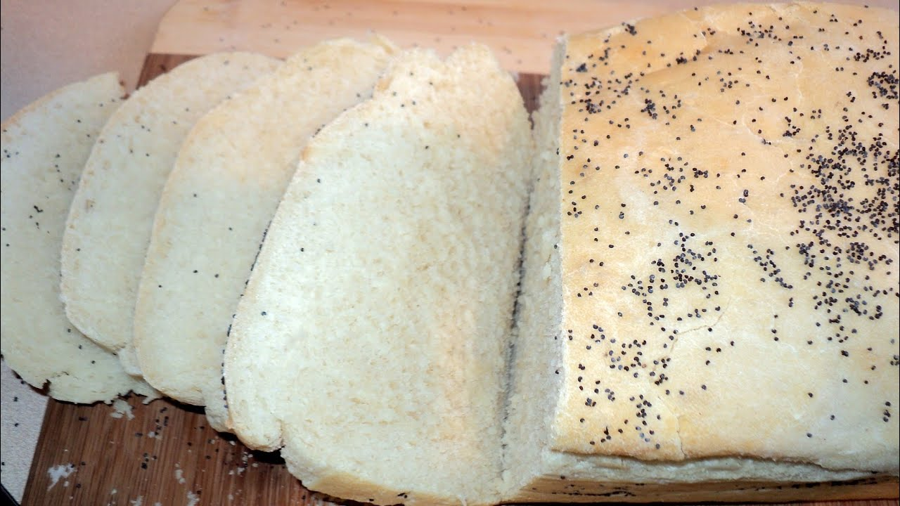 SIMPLE HOMEMADE BREAD - YouTube