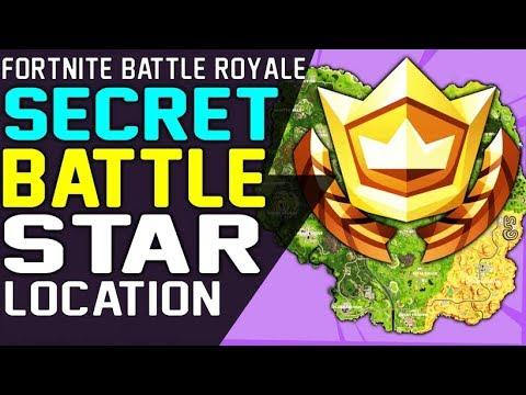 SECRET BATTLE STAR WEEK 7 LOCATION FORTNITE SEASON 6 HUNTING PARTY CHALLENGE  - Secret Battle Stars