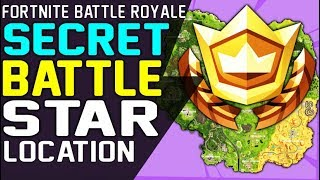 SECRET BATTLE STAR WEEK 7 LOCATION FORTNITE SEASON 6 HUNTING PARTY CHALLENGE - Secret Battle Stars