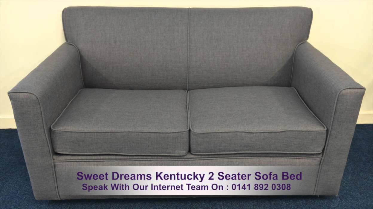 sweet dreams kentucky 2 seater sofa bed youtube. Black Bedroom Furniture Sets. Home Design Ideas