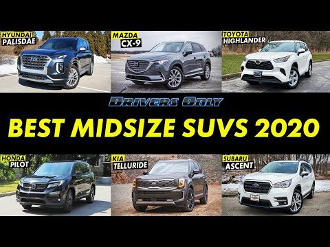 best-midsize-suvs-for-2020---drivers-only