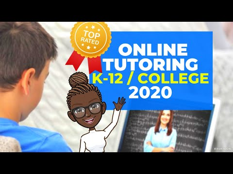 TOP-RATED ONLINE TUTORING SITES FOR K-12 & COLLEGE STUDENTS (2020)