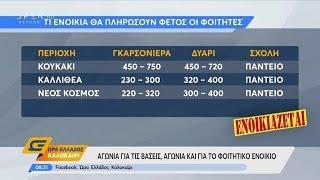 Αγωνία για τις βάσεις αλλά και για το φοιτητικό ενοίκιο - Ώρα Ελλάδος Καλοκαίρι 26/8/2019 | OPEN TV