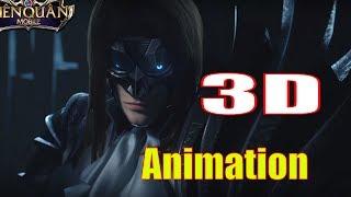Phim Liên Quân 3D: Valhein, Triệu Vân, Butterfly, Điêu Thuyền - Garena RoV Animation