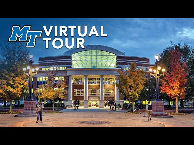 James E. Walker Library | MTSU Virtual Campus Tour