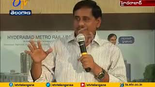 Nagole To LB Nagar Metro Link Soon | Metro Rail MD NVS Reddy Says