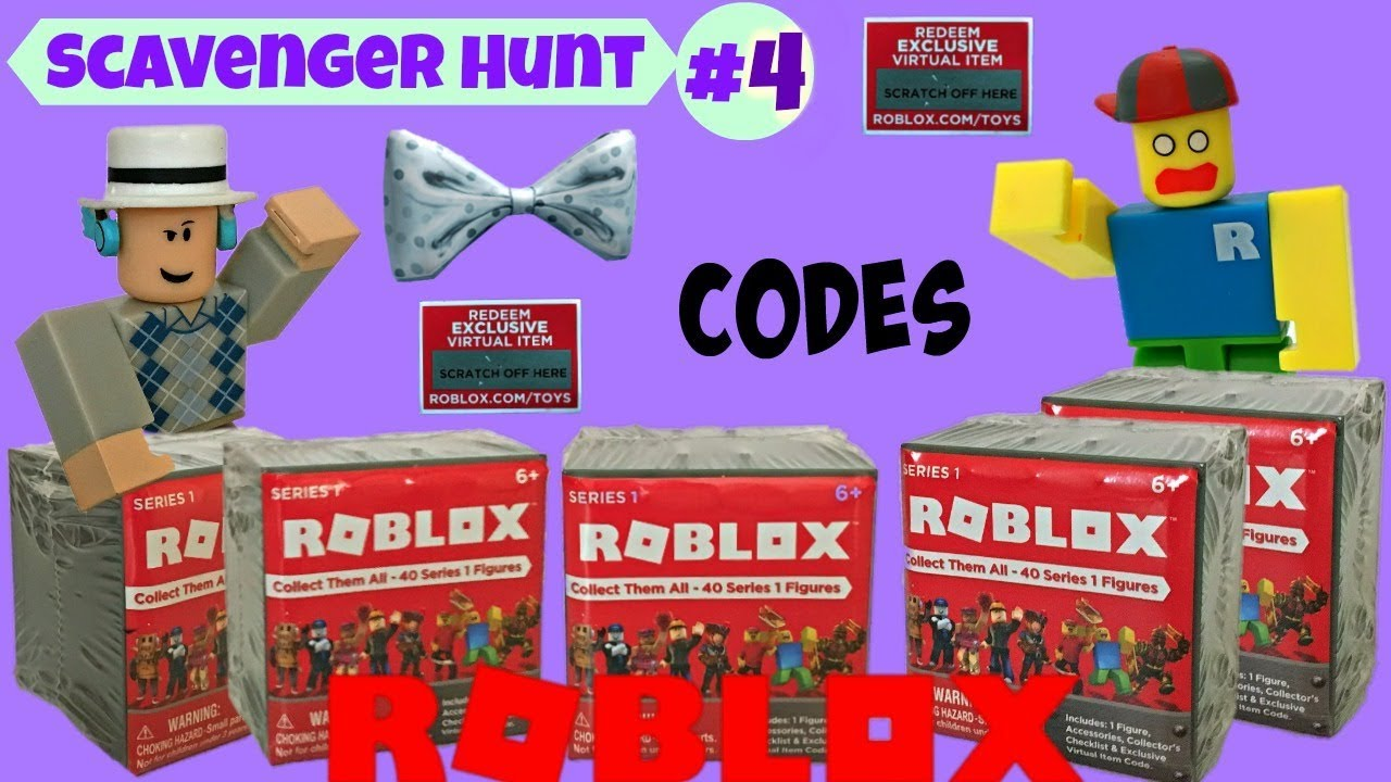 Roblox Scavenger Hunt #4 (closed) / Blind Boxes, Codes ...