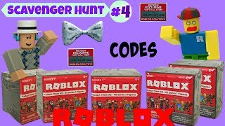 Roblox Scavenger Hunt #4 (closed) / Blind Boxes, Codes, Series 1 / Roblox Toys