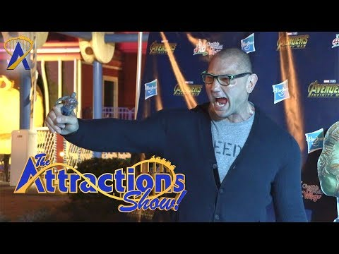 The Attractions Show! - Epcot Flower & Garden Festival; Dave Bautista; latest news