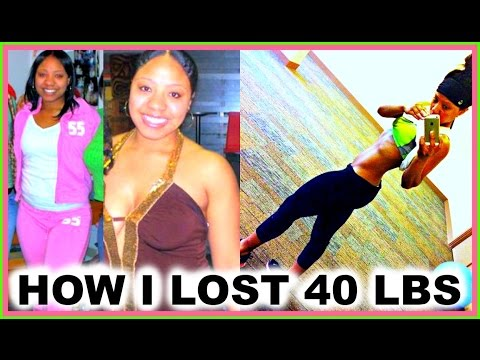 How I Lost 40 Pounds Quick & Became Healthy   Weight Loss Transformation/Motivation + Nutrition Tips