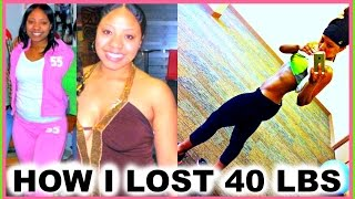 How I Lost 40 Pounds Quick & Became Healthy | Weight Loss Transformation/Motivation + Nutrition Tips