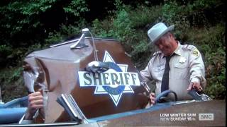 "Jackie Gleason Famous Scene from ""Smokey and the Bandit."""