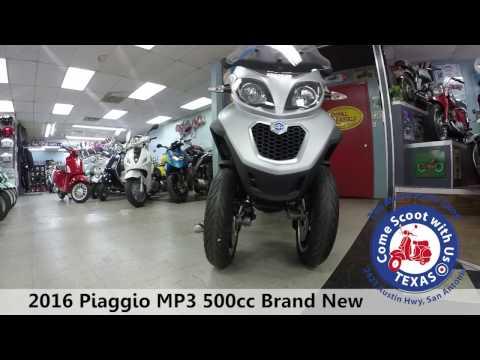 used 2016 Piaggio MP3 500cc New Silver 3 wheel