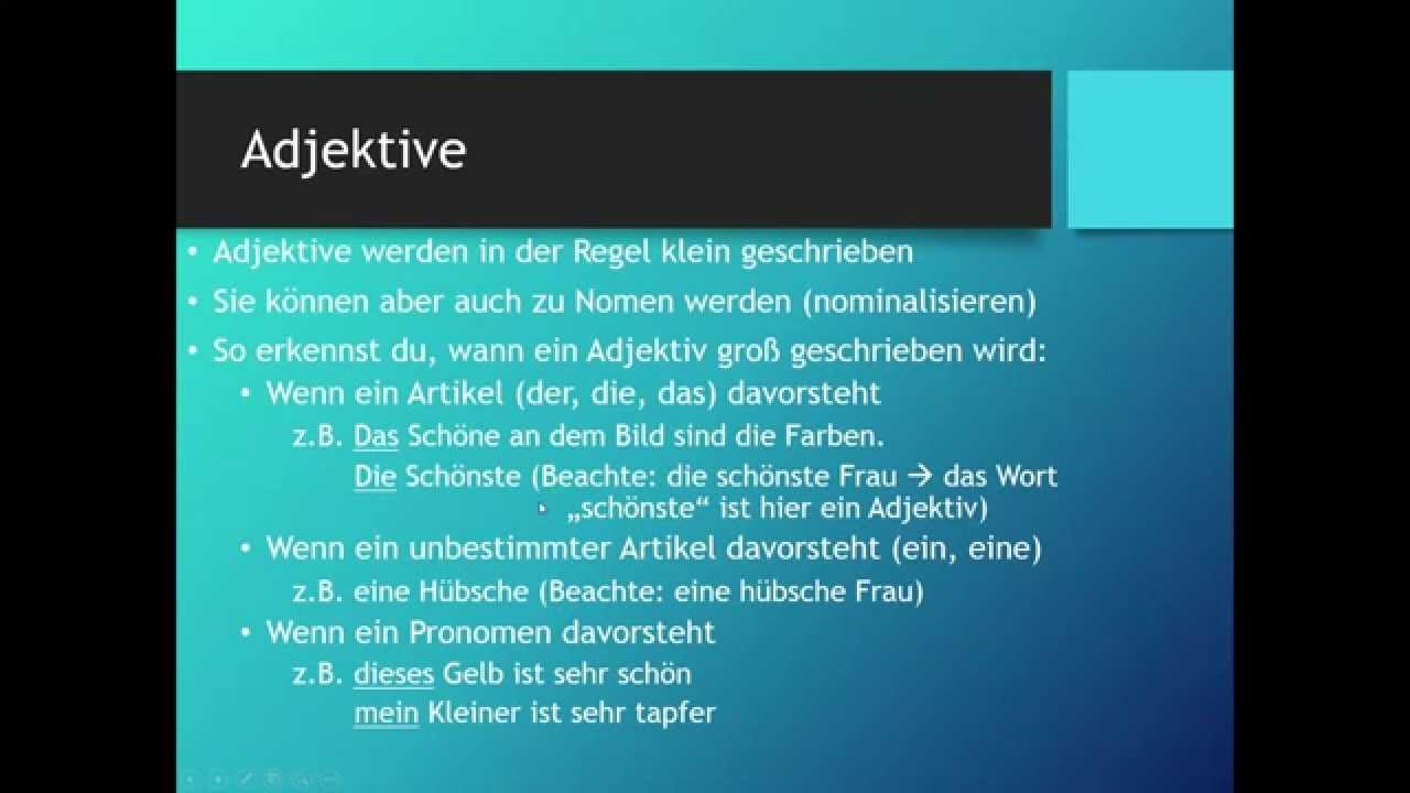 Grossing Deutsch