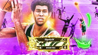 LEGEND KAREEM ABDUL-JABBAR is OVERPOWERED on NBA 2K20! BEST POST SCORER BUILD & ANIMATIONS!