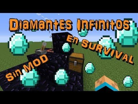 Generador de Diamantes Bien HARDCORE | sin Mod Minecraft 1.7.2 | survival |