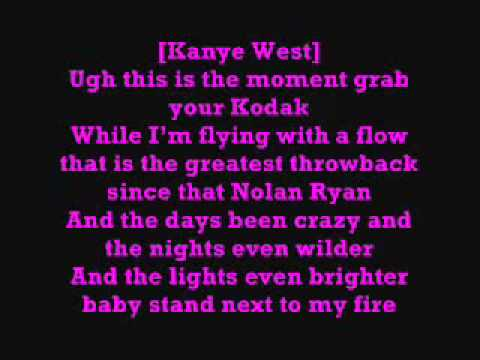 Nicki Minaj Ft. Kanye West - Blazin (Lyrics)