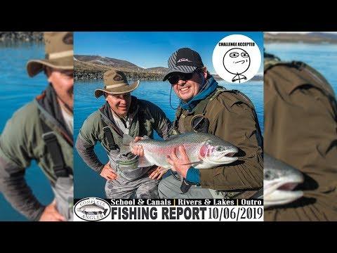 Tekapo Canal School Debrief CA Fishing Report 10.06.2019