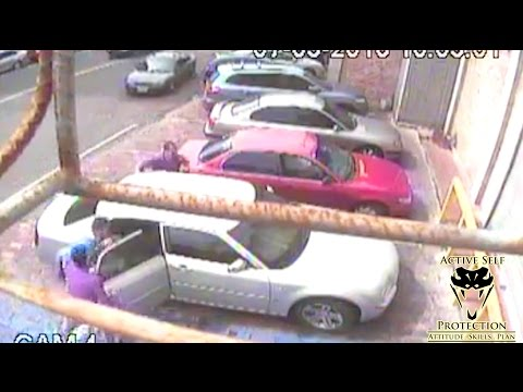 Kidnapping by Multiple Attackers Caught on Camera   Active Self Protection