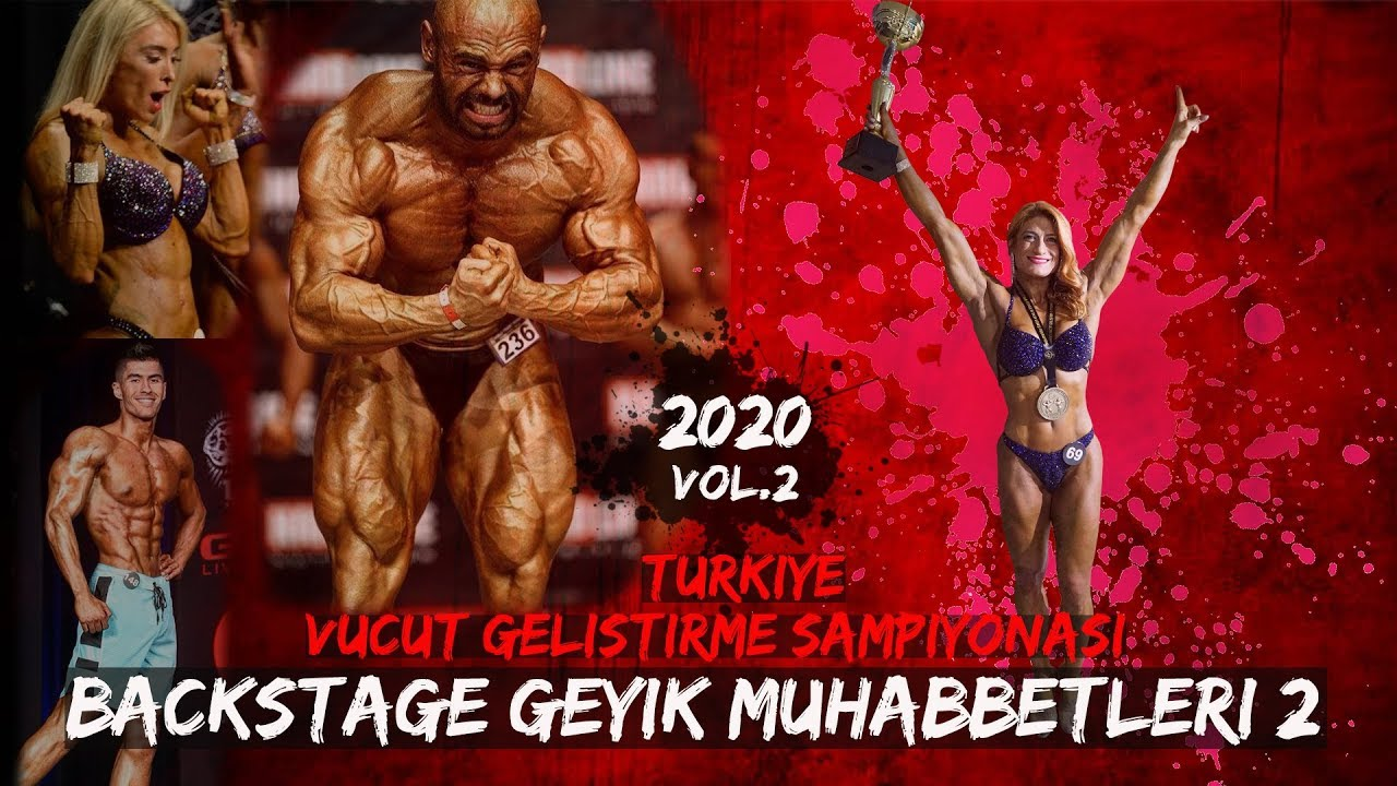 İFBB Türkiye Vücut Geliştirme Şampiyonası - BackStage Geyik Muhabbetleri 2