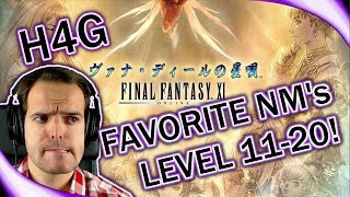 Final Fantasy XI in 2016 - Top Favorite NMs - Level 11-20! (1080p 30fps)