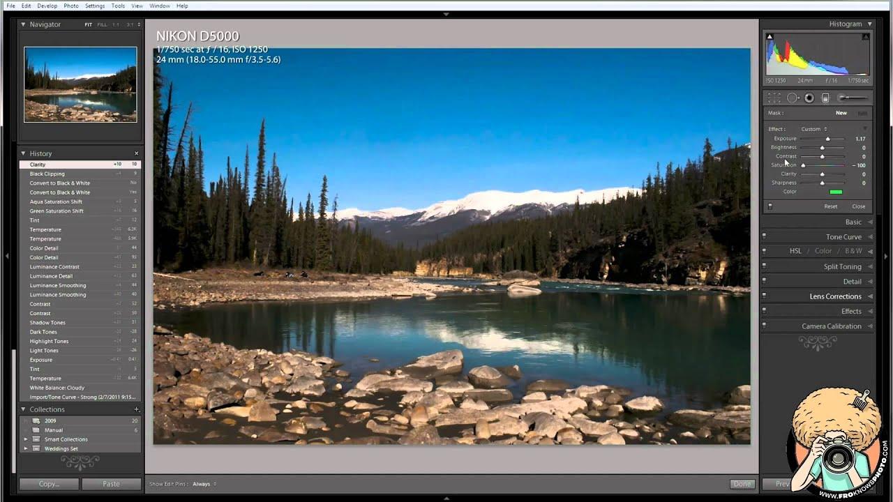 Adobe Lightroom 3 - Edit this Landscape RAW FILE