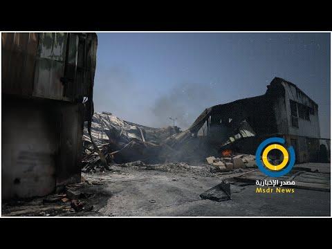 700 ألف دولار خسائر مصنع أبو اسكندر للنايلون بعد تدميره بالعدوان الأخير