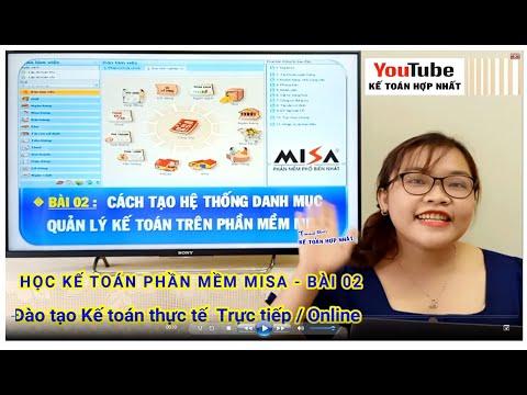 Kế toán phần mềm Misa – Bài 2: Tạo Danh mục các Đối tác làm ăn kinh doanh trong & ngoài Doanh nghiệp