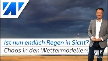 Sintflutartiger Regen in Süddeutschland! Wie verlässlich ist diese Wettervorhersage?