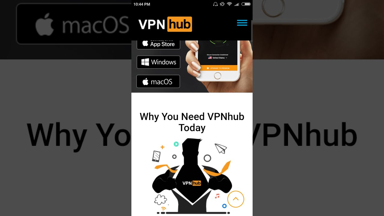 App Pornhub pornhub has launched own vpn service: vpnhub