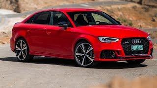 2017 Audi RS3 Limousine Test Drive | Review | Fahrbericht (Deutsch/German) ///Lets Drive///