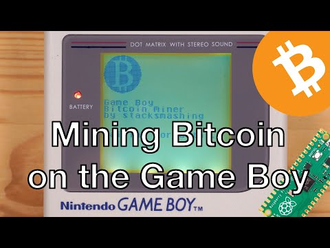 Mining Bitcoin on the Game Boy