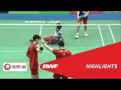 YONEX US Open 2019 | Semifinals MD Highlights | BWF 2019