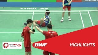 YONEX US Open 2019 | Semifinals MD Highlights | BWF 2019