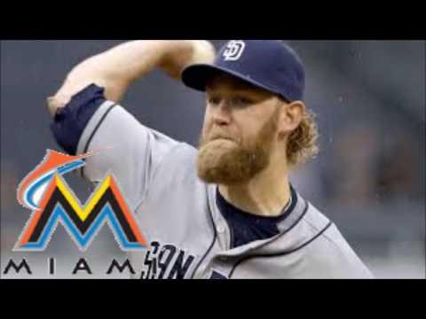 MLB Trade news Padres Trade Andrew Cashner to Miami Marlins