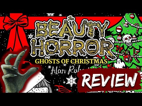 The Beauty of Horror: Ghosts of Christmas   Colouring Book Review & Giveaway!