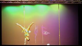 My performance at the Queensland Pole Championships Amateur Competition 2017