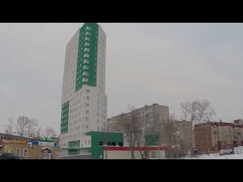 Жилой дом по ул. Сазанова.  Январь 2019 года. Новостройки. Нижний Новгород.