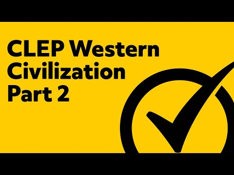 Best Free CLEP Western Civilization 2 Study Guide