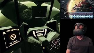 """""""Best Space Sim!"""" - CDF Starfighter - HTC Vive VR Gameplay"""