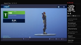 Fortnite Live Stream// Road to 2.5k