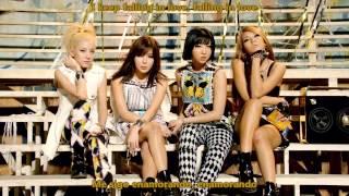 2NE1 - Falling In Love [Sub Español + Hangul + Romanización]