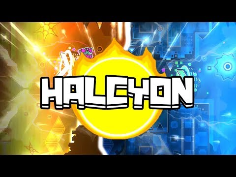 Epic level ! #8 | Halcyon| By CastriX ( And others ) | Geometry Dash 2.11 | Love it :)