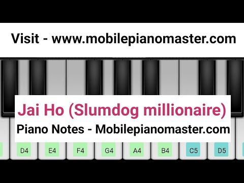 Jai Ho Piano|Slumdog Millionaire|Piano Keyboard|Piano Lessons|Piano Music|learn piano Online|Mobile